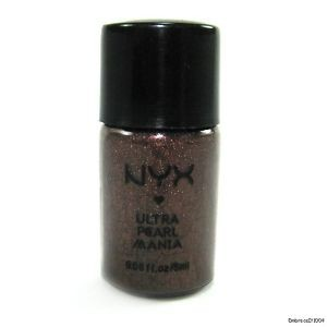 NYX Pearl loose pigment in Walnut Pearl