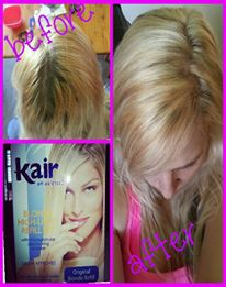 Kair kair highlighting kit review beauty bulletin hair dyes before and after solutioingenieria Choice Image