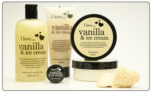 i love cosmetics i love vanilla and ice cream review beauty bulletin body moisturizers. Black Bedroom Furniture Sets. Home Design Ideas