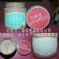 Hey Gorgeous - Choc Mint Whipped Mousse