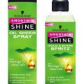 Schwarzkopf Smooth 'n Shine Hold & Shine Spritz with Moringa and Olive Oils