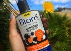 Bioré charcoal cleanser