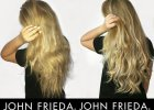 JOHN FRIEDA Sheer Blonde Hi-Impact Shampoo & Conditioner before & after