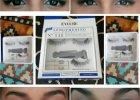 The effect of the Eylure eyelashes