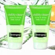 Neutrogena Visibly Clear Pore and Shine Daily Facial Scrub
