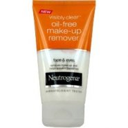 Neutrogena Visibly Clear Oil Free Make Up Remover