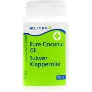 Clicks Pure Coconut Oil