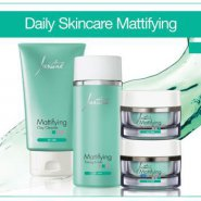 Justine Mattifying Daily Skin Care Range