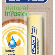 Lip Ice Natural Infusion in Honey Cream