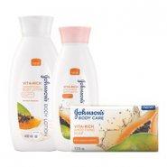 Johnson's® Vita-Rich Papaya Body Care Range