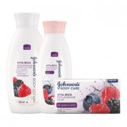 Johnson's® Vita-Rich Raspberry Body Care Range