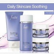 Justine Daily skincare Soothing Moisturiser,Toner & Cleanser