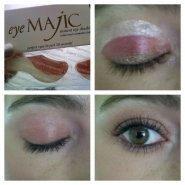 Review for Eye Majic instant eye shadow,