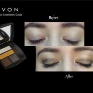 AVON - True Colour Eyeshadow Quads (Metal eyes & Jeans)