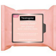 Neutrogena® Visibly Clear® Pink Grapefruit Facial Cleansing Wipes