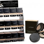 L.A. Girl Pressed Powder and Puff