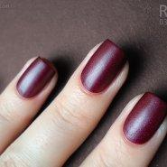 Revlon Matte Suede Nail Enamel in Ruby Ribbon