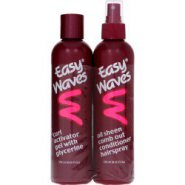 Easy Waves Sheen spray and Curl Activator