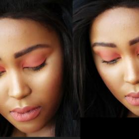 Rustic Winter Slay   Makeup Tutorial   South African Beauty Blogger   Meza Mtshali