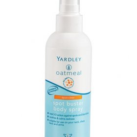 Yardley Oatmeal Spot Buster body spray