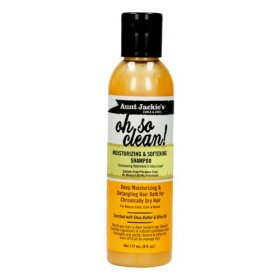 Aunt Jackie's Curls And Coils Oh So Clean Moisturizing & Softening Shampoo