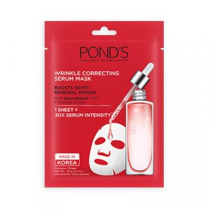 POND'S Wrinkle Correcting Serum Mask