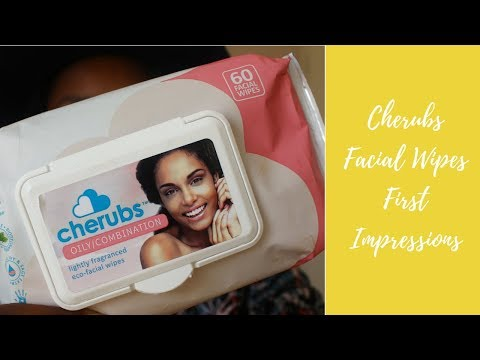 Cherubs Facial Wipes First Impressions | Amanda Klaas
