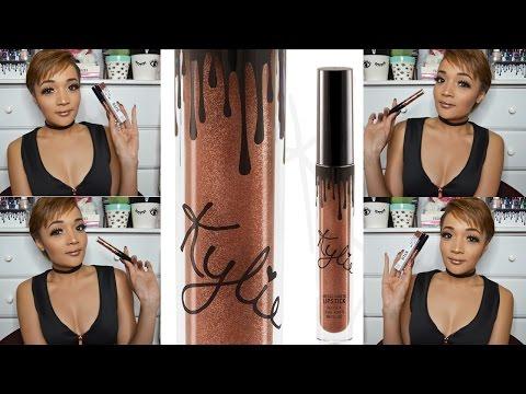 Kylie Cosmetics METAL MATTE Lipstick Review - Video - Beauty