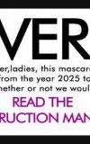Avon Mega Effects Mascara-Legendaree Review