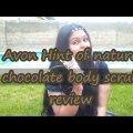 avon chocolate body scrub review by beautydivanaz