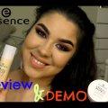 ESSENCE Review & Demo | Stay All day 16H foundation & Translucent Powder | Cassandra da Silva