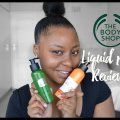 How to Get Youthful skin |The Body shop Liquid peel | Youtuber in South Africa