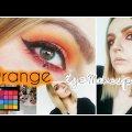 Orange Eye Makeup Tutorial | NYX Ultimate Brights