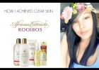 HOW I ACHIEVED CLEAR SKIN WITH AFRICAN EXTRACTS ROOIBOS CLASSIC SKINCARE RANGE