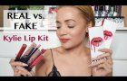 Real vs Fake (AliExpress) Kylie Lip Kit - with DIMENSIONS | South Africa Style & Beauty Blogger