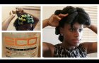 4c Natural Hair l Roller Set Updo feat Eco Styler Gel l Fail l Nigerian / South African Youtuber