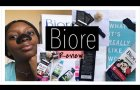 BIORE CHARCOAL PORE STRIP REVIEW  x  RUBYBOX | SOUTH AFRICAN YOUTUBER