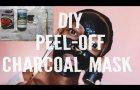 DIY Peel-Off Charcoal Mask