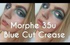 Blue Cut Crease | Morphe 35U Palette