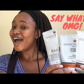Environ Products Review + 1 Month Update|South African Beauty Blogger|My Naturawl