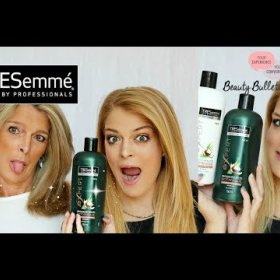 TRESemme' Bontanique Shampoo & Conditioner Review   Beauty Bulletin    The Foxy Momager