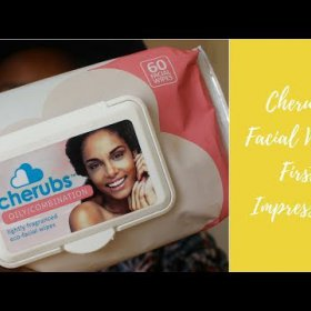#Review : Cherubs Facial Wipes First Impressions for Beauty Bulletin | Amanda Klaas