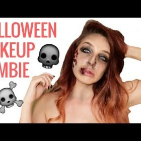 Halloween Makeup Idea 2 | Zombie with blood