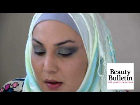 Blue Eyemakeup and Pink Lips with Avon Makeup tutorial and Product reviews